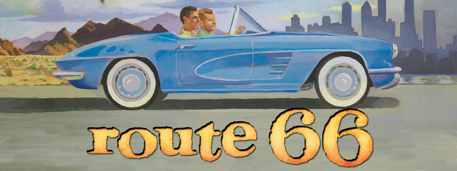 Route TV Series - Route 66 tv show car